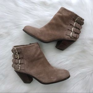 Sam Edelman Lucca Suede Ankle Booties